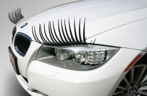 car lashes_bmw