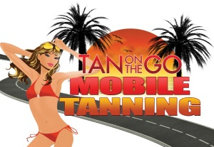 tan on the go cartoon girl