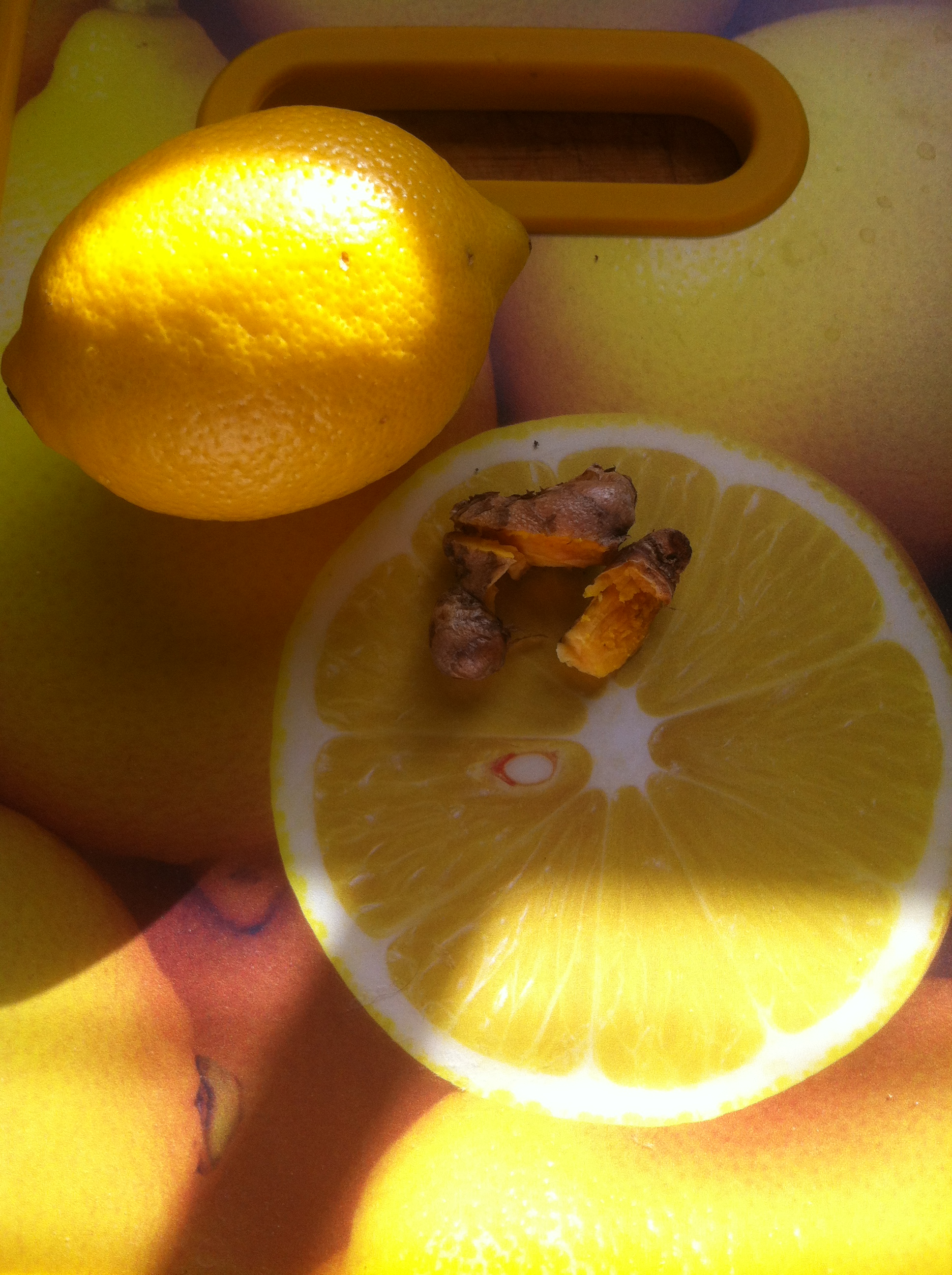photo lemons and tumeric