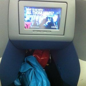 airplane seat POD