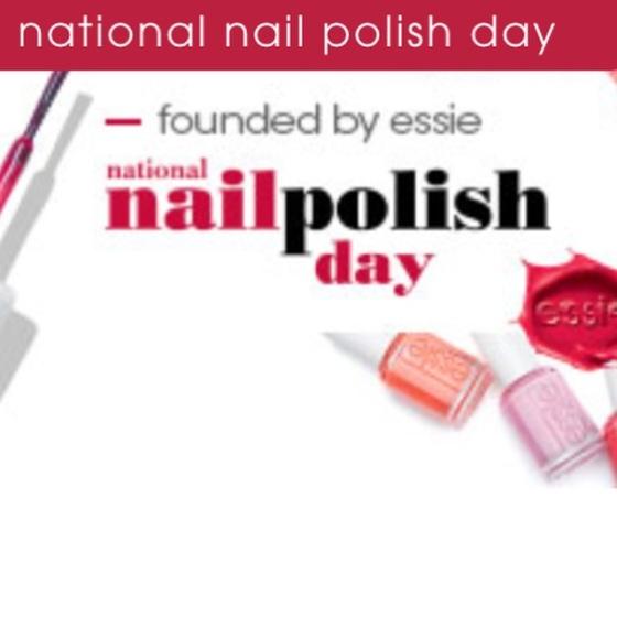 NATIONAL NAIL POLISH DAY