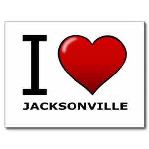 I LOVE JACKSONVILLE card