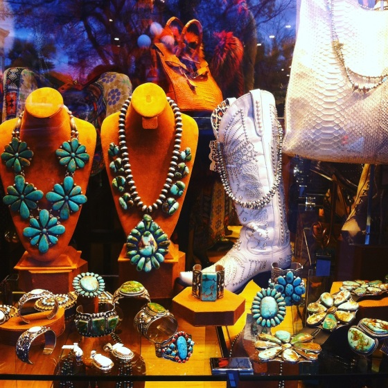 photo Santa Fe shoppining