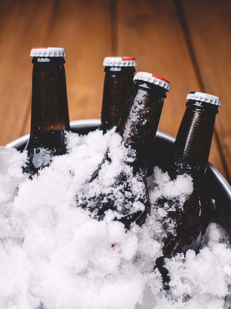 party beer ice bottles